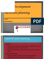 Career and Sucession Planning Lect 9
