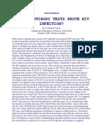 Do Hiv Antibody Tests Prove Hiv Infection