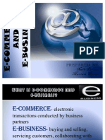 Ecommerce and Ebusiness