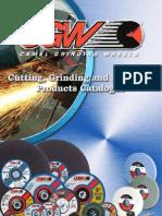 CGW Cutting Grinding & Polishing Ctalogue