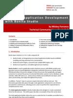 BonitaSoft Graphical Application Development