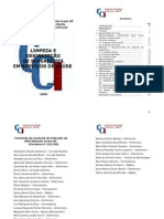 CCIH - Limpeza e Desinfecção