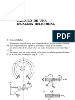 Cálculo de una escala helicoidal - Inard & Grekow & Mrozowicz