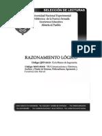 SELECCIÓN DE LECTURAS RAZONAMIENTO LÓGICO