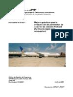 Pavimentos Rigidos en Aeropuertos (Iprf - Usa)
