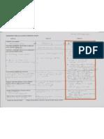 Worksheet for Evaluation Paper 2