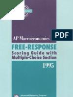 255220 1995 Macroeconomics RE
