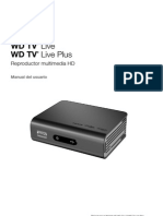 Manual Usuario WDTV Live