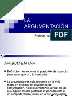 Argumentación