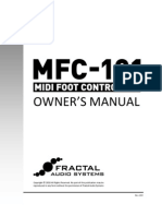 MFC 101 Owners Manual