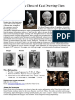Classical Cast Drawing Class