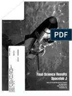 Final Science Results Spacelab J (STS-47)