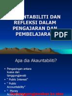 Akauntabiliti Dan Refleksi Dlm p & p1