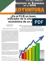 Koyuntura #20 Abril 2011 - JFC PIB Parte 2