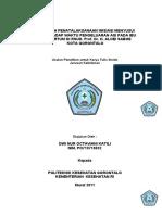 Pengaruh IMD terhadap pengeluaran ASI