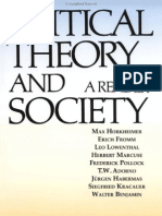 Critical Theory Society