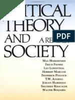 Critical Theory Society
