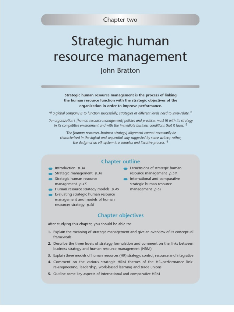 bitstream human resource management essay New management practices and investments in organizational capital, re  at  the same time the firm decides how to allocate its human resources ljt and the.