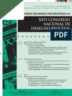 II Jornadas Rosarinas Preparatorias del Congreso Nacional de Derecho Procesal
