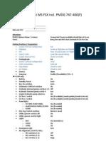 Checklist B747 PMDG