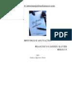 322 - HISTÓRIAS E ANOTAÇÕES - (Chico Xavier - Irmão X)