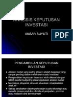 Analisis Investasi (Pengambilan Keputusan