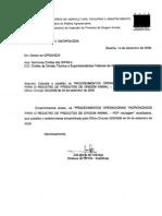 Oficio Circular 031 09 DIPOA SDA