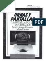 Urnas y Pantallas Sergio Aguayo
