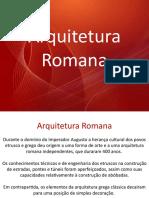 Aula 06 - Arquitetura Romana