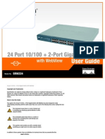 Linksys 24 Port Switch Manuel Srw224_ug