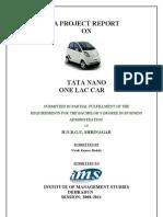 Vivek Badola Project TATA Nano