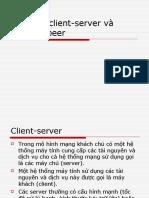 Client-server và peer-to-peer