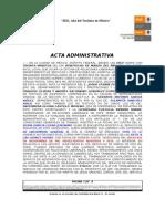 ACTA ADMINISTRATIVA (2)
