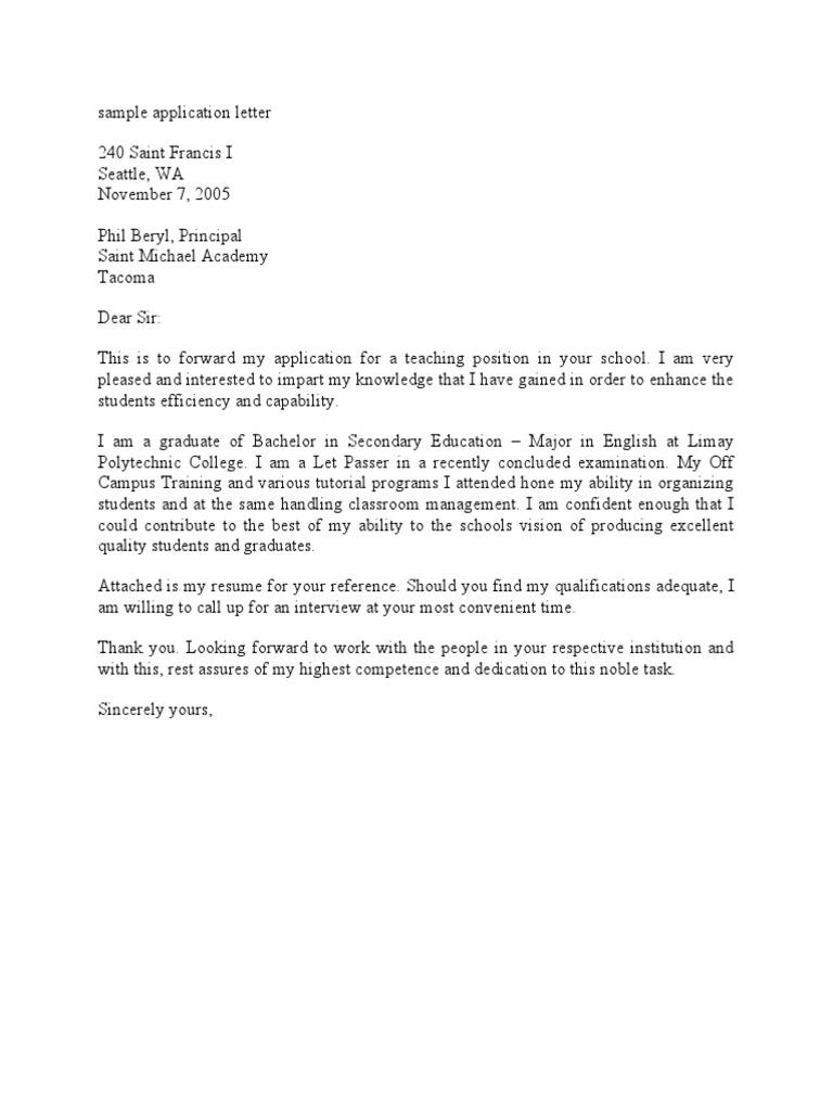 1527564047v1 - Application Letter Sample