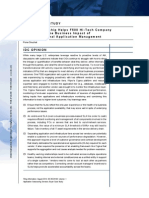 Idc Cigma Case Study Report