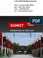 Red Hat Summit 2010 Summary