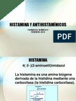 HISTAMINA Y ANTIHISTAMÍNICOS (2) 2010 2p