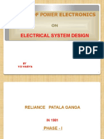 Impact of Power Electronics on Electrical System Design