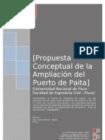 Propuesta Conceptual de La Ampliacion Del Puerto de Paita-Ponencia-resumen Final 10%
