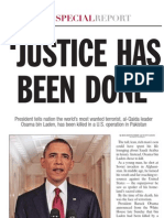 The State Special Report on the Death of Osama Bin Laden