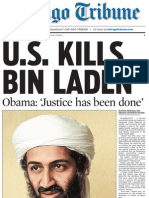 Chicago Tribune Front Page