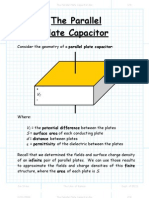 The Parallel Plate Capacitor