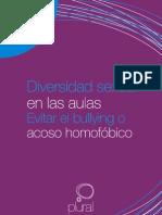 Diversidad sexual en las aulas