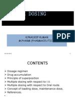 Multiple Dosage Regimen