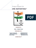 Crime Reporting Report File2007