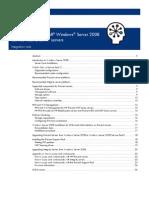 2008 on HP Proliant - c00710606