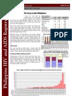 DOH-NEC HIV-AIDS March Registry 2011