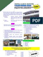 Brosur SMP Islam Bahrul Ulum 2011