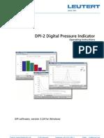 C LEUTERT DPI Help Software Manual e
