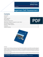 LP Briefing - Tanker Management Self Assessment